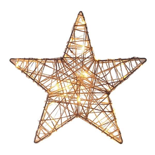 Dekoracja świetlna w kształcie gwiazdy LED DecoKing Premium, wys. 26 cm