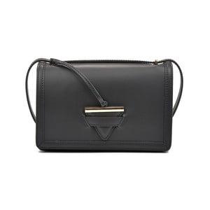 Černá kožená kabelka Renata Corsi Brisa