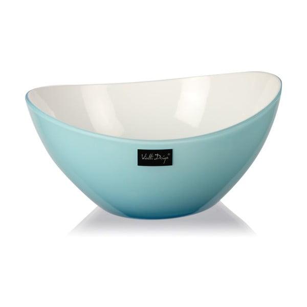 Světle modrá salátová mísa Vialli Design, 16cm
