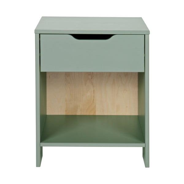 Zelený noční stolek De Eekhoorn Nikki