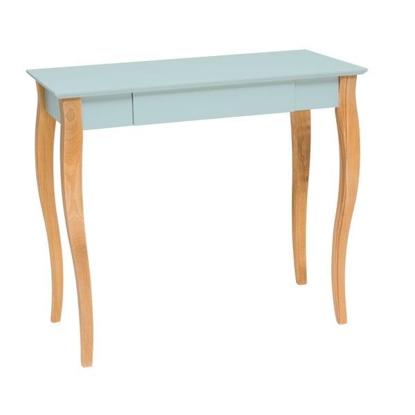 Lillo világos türkiz íróasztal, hossz 85 cm - Ragaba