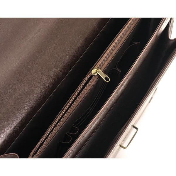 Pánská taška Solier S22, hnědá