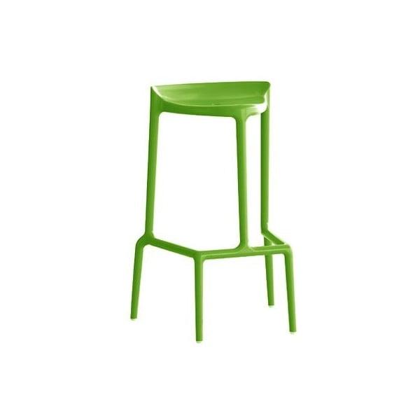 Barová židle Happy 490, světle zelená