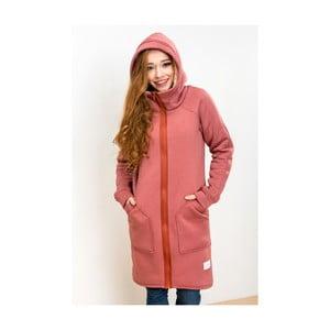 Červená bunda Lull Loungewear Attitude, vel. S