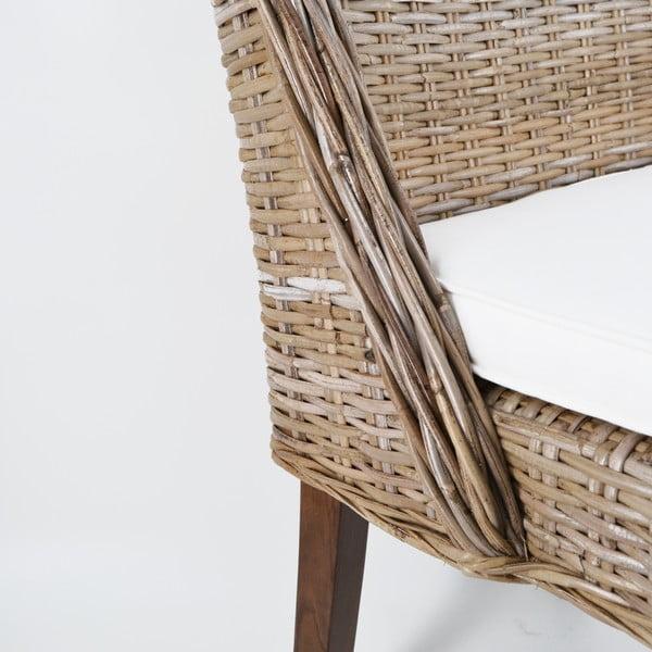 Ratanová židle Moycor Aine