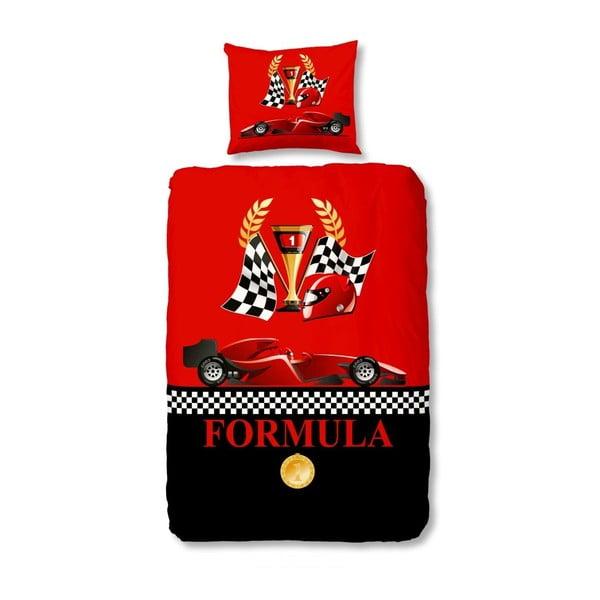 Dětské povlečení Muller Textiel Racing Formula, 140x200 cm