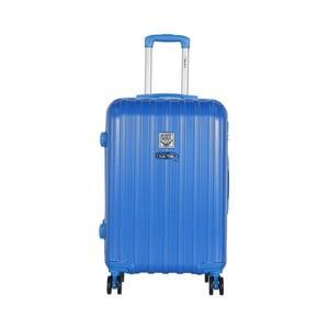 Modrý cestovní kufr LULU CASTAGNETTE Edge, 71l