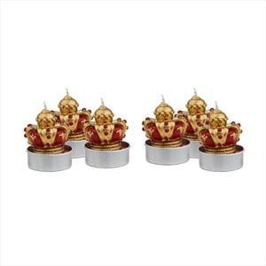 Sada 6 čajových svíček Butlers Crowns