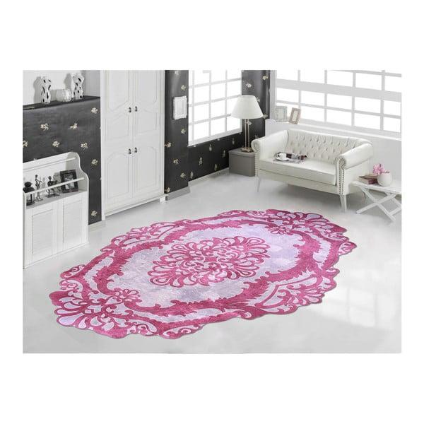 Odolný koberec Vitaus Huniyo Lirmizi, 80 x 120 cm
