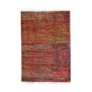 Ručně vyráběný koberec The Rug Republic Richmond Red, 190 x 290 cm