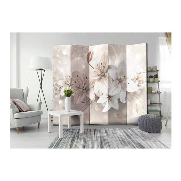 Paraván Artgeist Creamy Lily, 225 x 172 cm