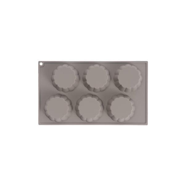 Formă pentru brioșe din silicon Sabichi Cone, gri
