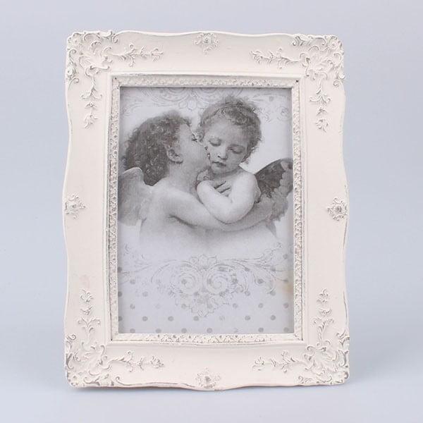 Fotorámeček White Days, 17x21 cm