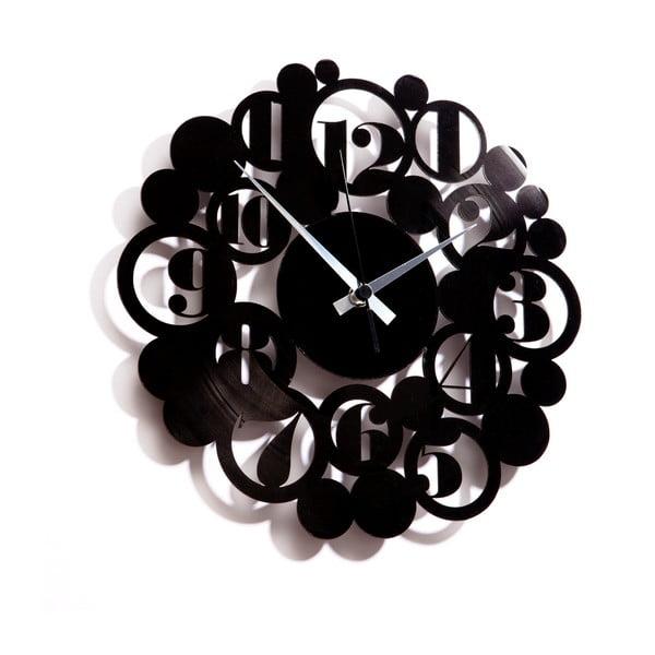 Vinylové hodiny Bodoni Bubbles