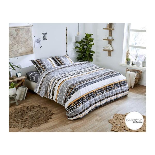 Lenjerie din bumbac, pat de o persoană Dreamhouse Xander, 140 x 220 cm