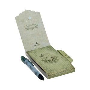 Set zápisníku s magnetickým zapínáním a pera Santoro London Mirabelle Augustine