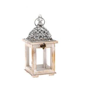 Dřevěná lucerna Dakls Easter Deco, výška 28,5 cm