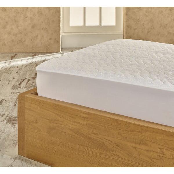 Ochranná bavlněná podložka na matraci na dvoulůžko Helene, 180x200cm