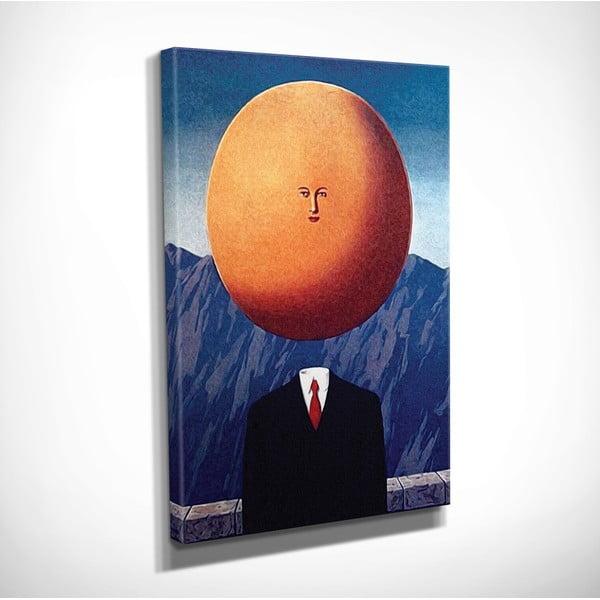 Vászon fali kép Rene Magritte The Art of Living másolat, 30 x 40 cm