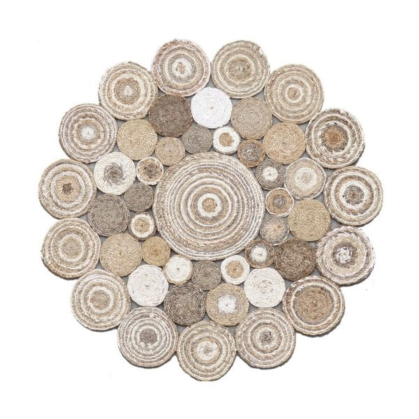 Okrągły dywan z juty Eco Rugs Elsa, Ø 120 cm