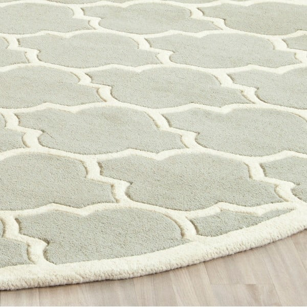 Vlněný koberec Camilla Grey, 121x182 cm