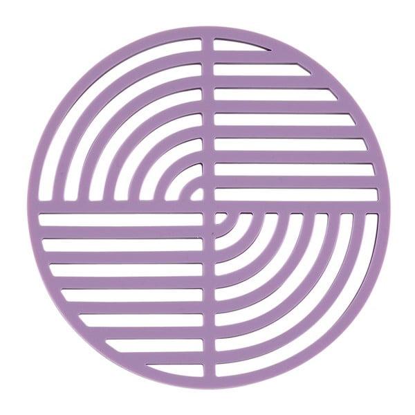 Suport din silicon pentru vase fierbinți Zone Trudo, violet