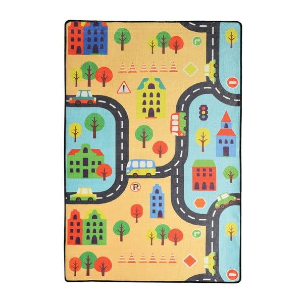Detský koberec Road, 140 × 190 cm