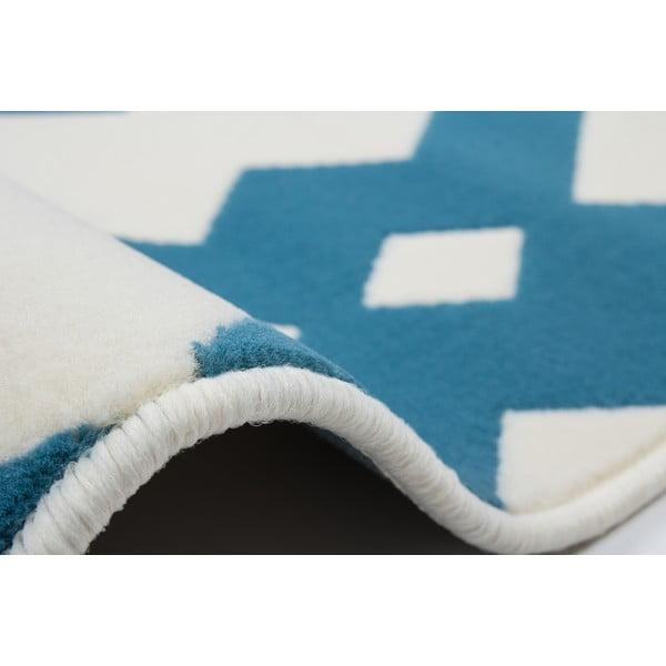 Modro-bílý koberec Kayoom Stella 100 Blue, 160x230cm