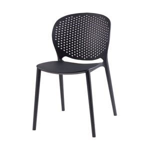Sada 4 černých židlí sømcasa Rodie