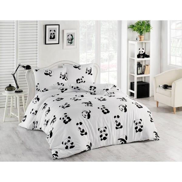 Obliečky na jednolôžko Panda, 140×200 cm
