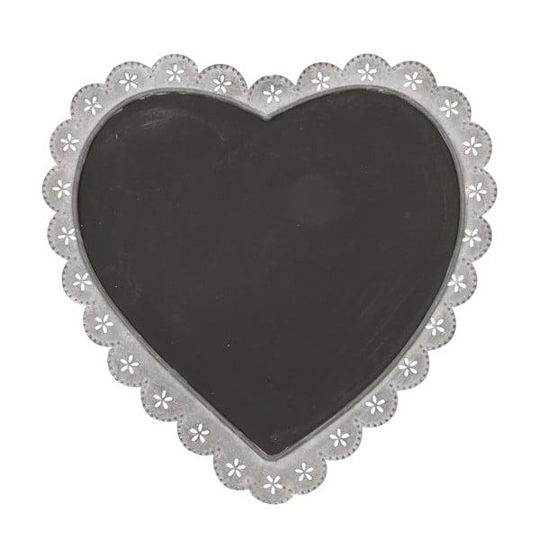 Tabule Clayre & Eef ve tvaru srdce