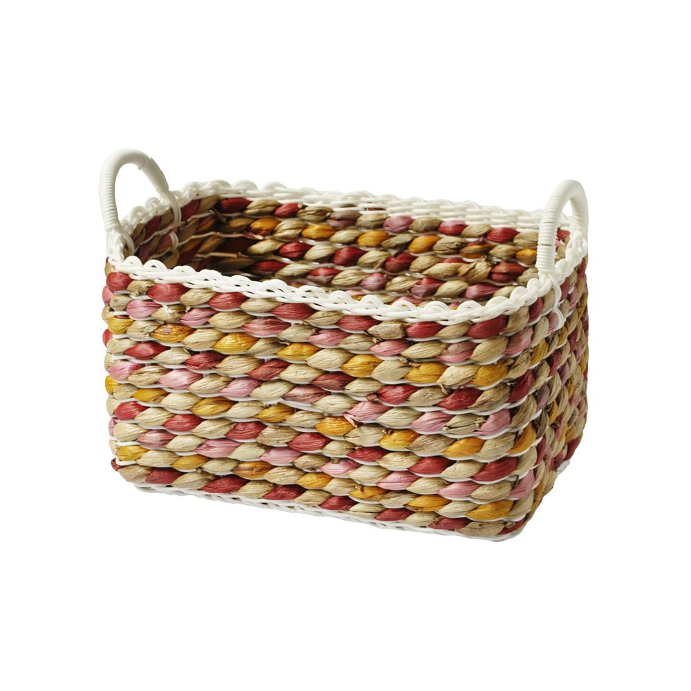 Ručně pletený košík a'miou home Kaleo, 32 x 20 cm