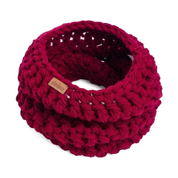 Eșarfă rotundă tricotată manual DOKE Viny