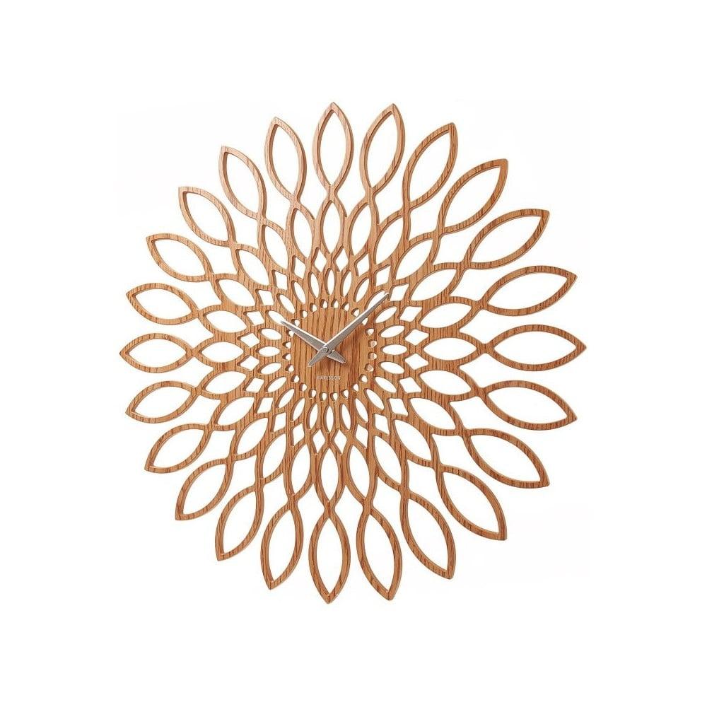 Nástěnné hodiny Karlsson Sunflower