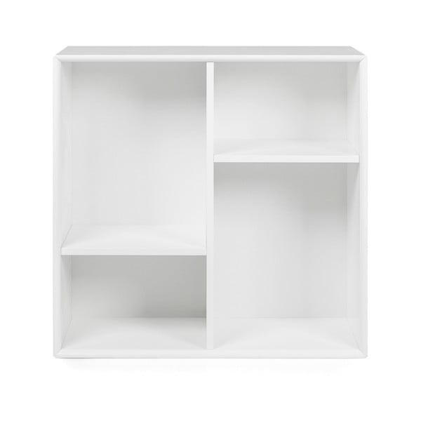 Biały regał Tenzo Z Cube, 70x70 cm