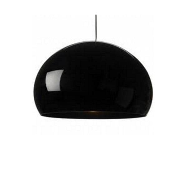 Lesklé černé  stropní svítidlo Kartell Fly