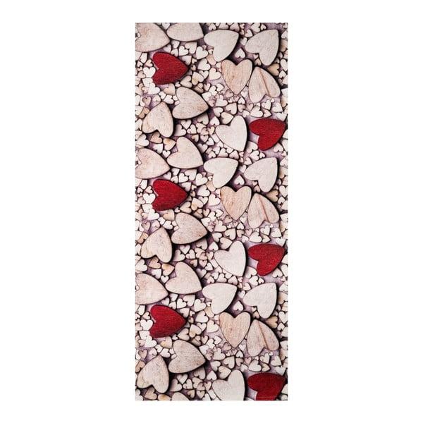 Běhoun Floorita Cuoro Legno, 58 x 190 cm