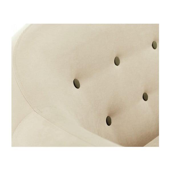 Colțar cu șezlong pe partea stângă Scandi by Stella Cadente Maison Constellation, crem