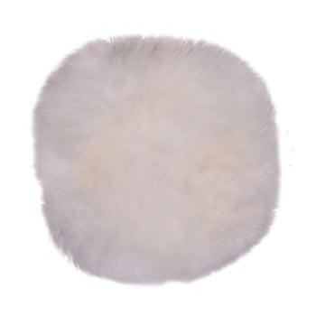 Blană de oaie House Nordic Circle ⌀ 35 cm, alb