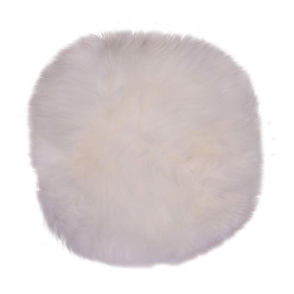 Circle fehér bárányszőrme, ⌀ 35 cm - House Nordic