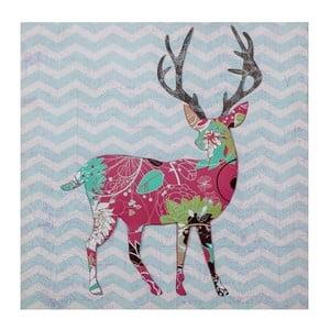 3D obrázek Ewax Red Reindeer, 40x40 cm