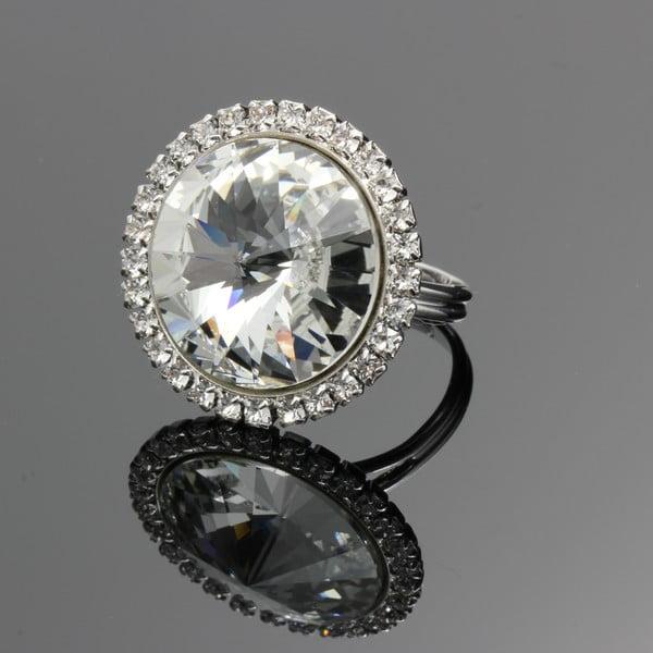 Prsten Crystal se Swarovski Elements, univerzální velikost