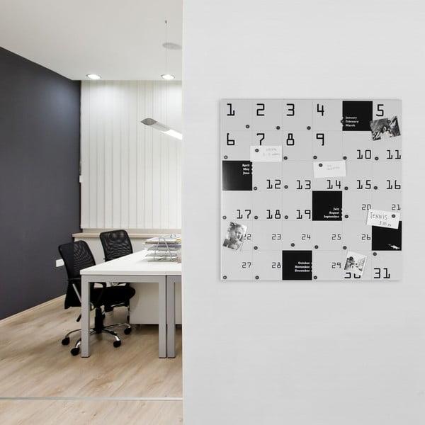Magnetický kalendář Remember, 80x80 cm
