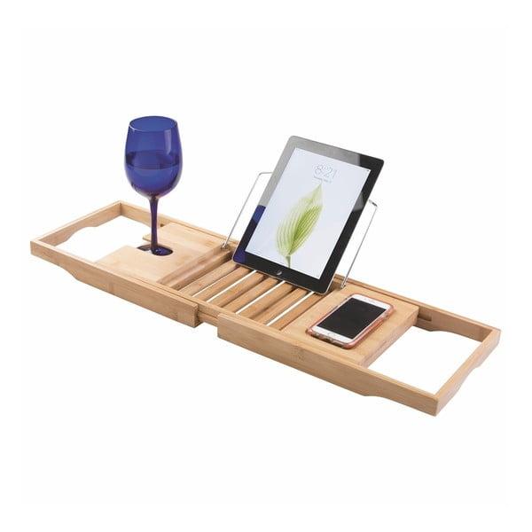 Bambusový nastaviteľný odkladací podnos na vaňu iDesign Formbu