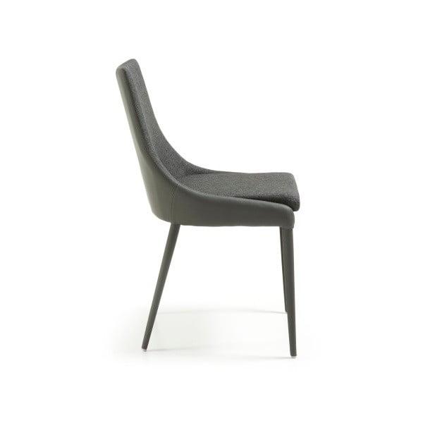 Šedá židle La Forma Dant