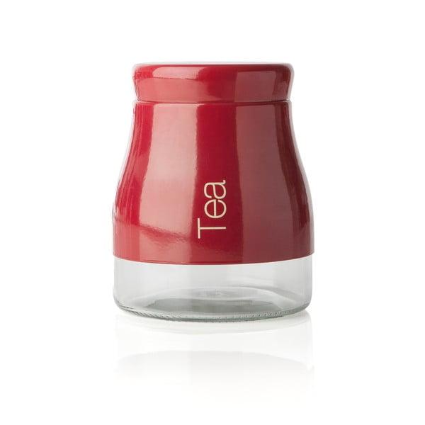Recipient pentru ceai Sabichi Tea, roșu, 700 ml