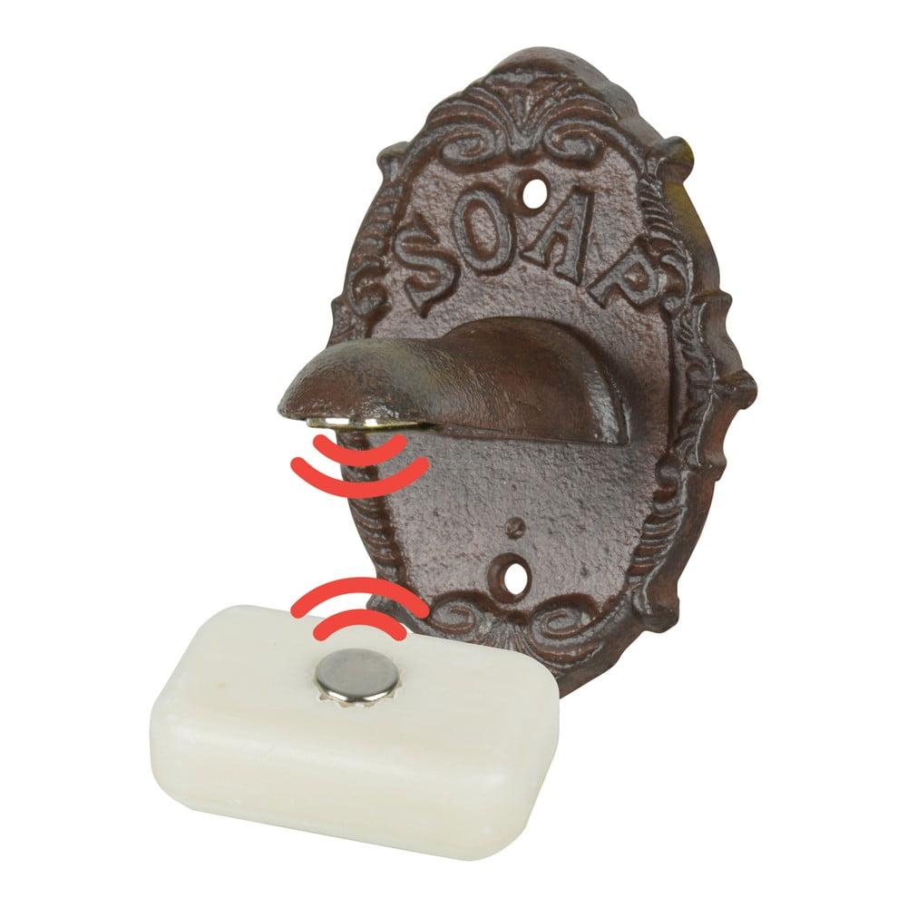 Litinový nástěnný držák na mýdlo Esschert Design