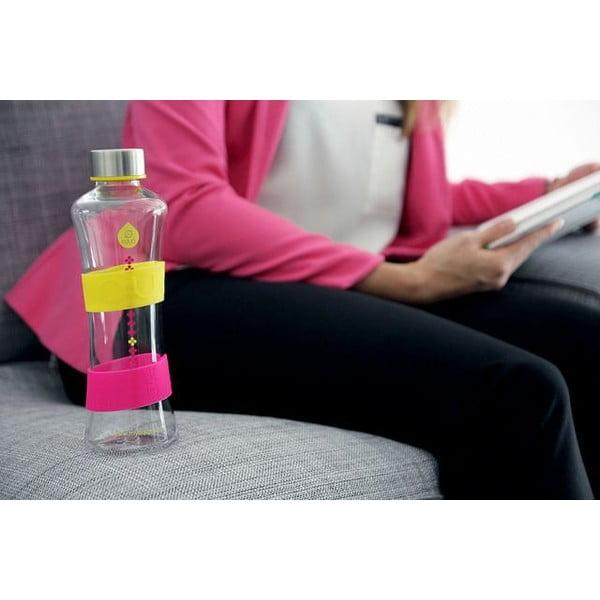 Skleněná lahev Drop Cmyk Yellow, 0,57 l