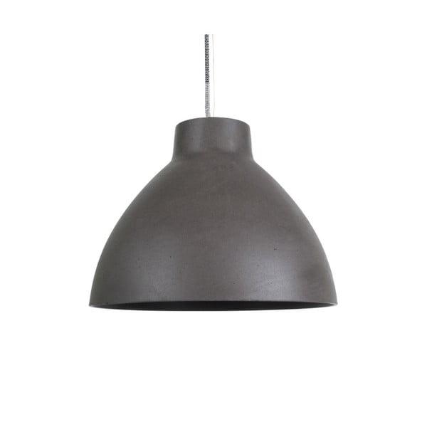 Tmavě šedé závěsné svítidlo Leitmotiv Sandstone Mini