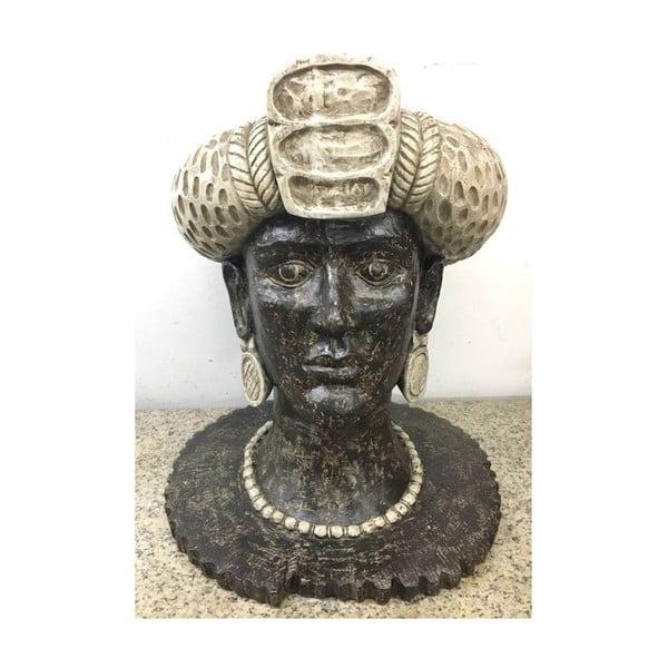 Dekorativní soška Kare Design African Queen, výška 50 cm
